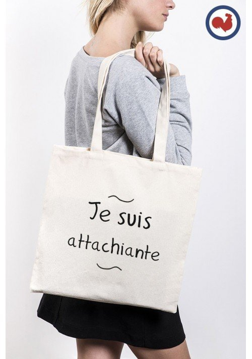 Attachiante Totebag Made in France