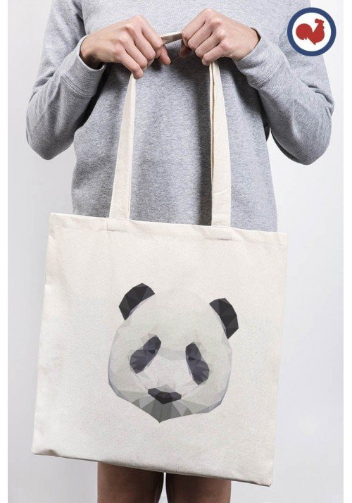 Panda Totebag Made in France