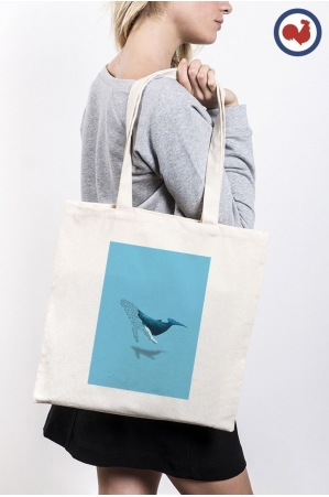Baleine Totebag Made in France