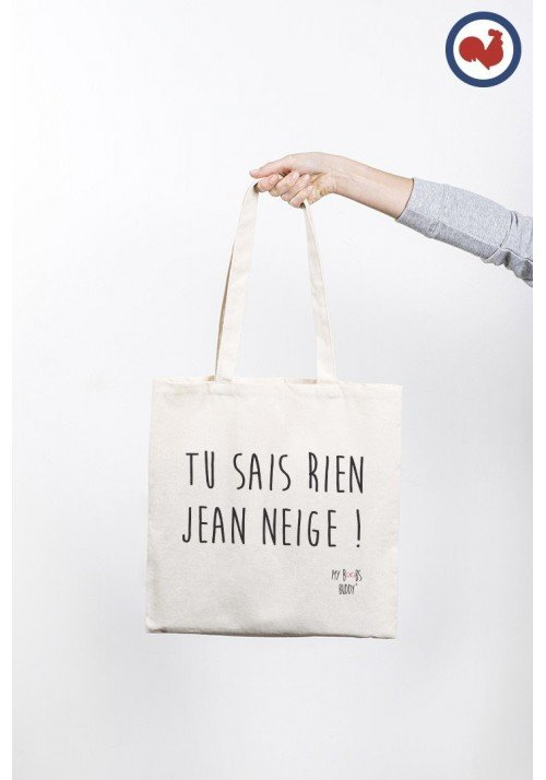 Jean Neige Totebag Made in France