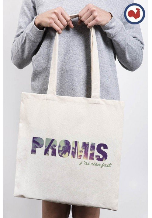 Promis J'ai rien fait Totebag Made in France