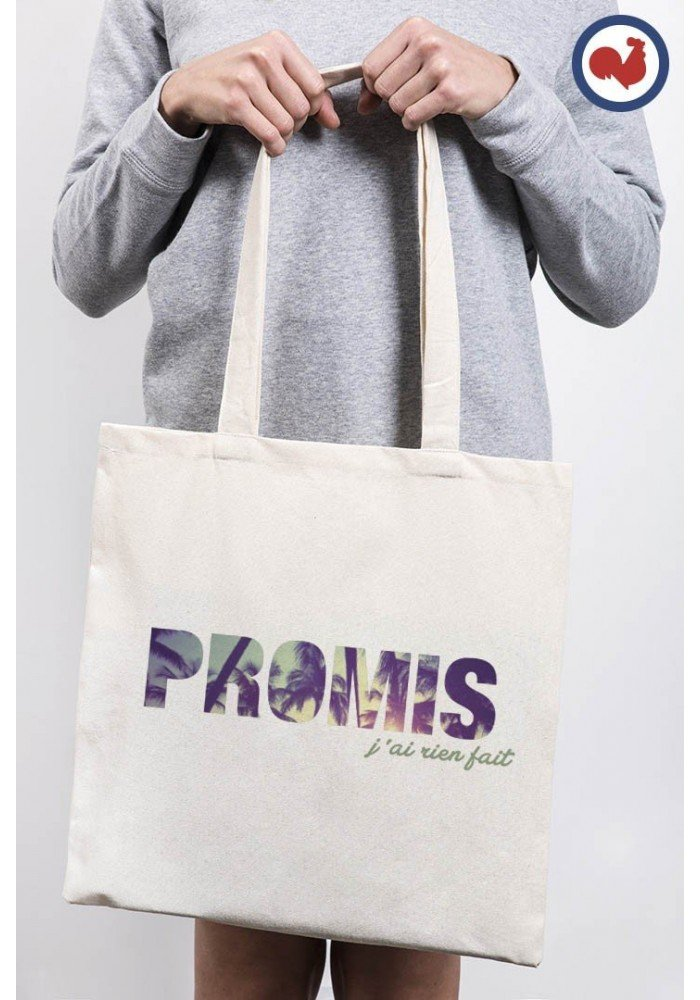 Tote Bag Promis J'ai rien fait