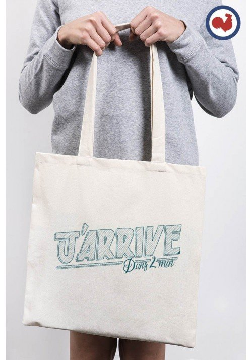 Promis J'arrive Totebag Made in France