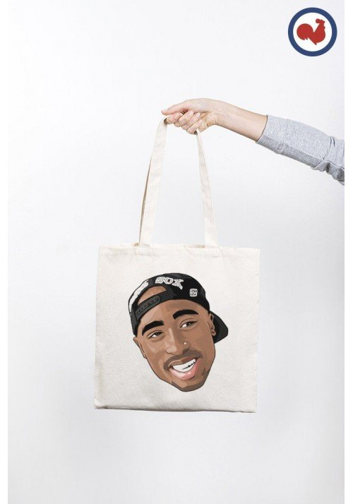 Tupac Cap Totebag Made in France