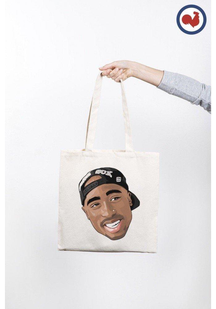 Tote Bag Tupac Cap