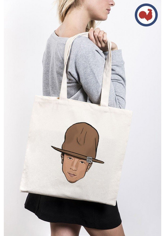 Tote Bag Pharrell Head