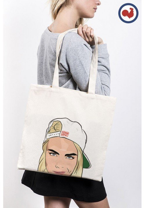 Cara Delevingne Totebag Made in France