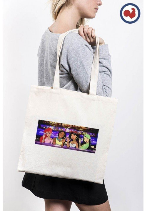 Girlz Arm & Lips Totebag Made in France