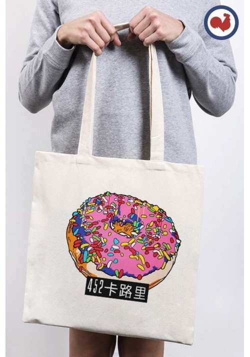 Donuts Totebag Made in France