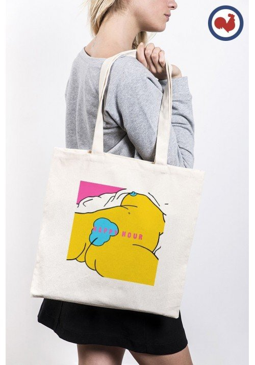 Happy Hour Totebag Made in France