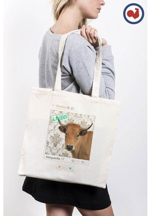 Tinedeure Marguerite Totebag Made in France