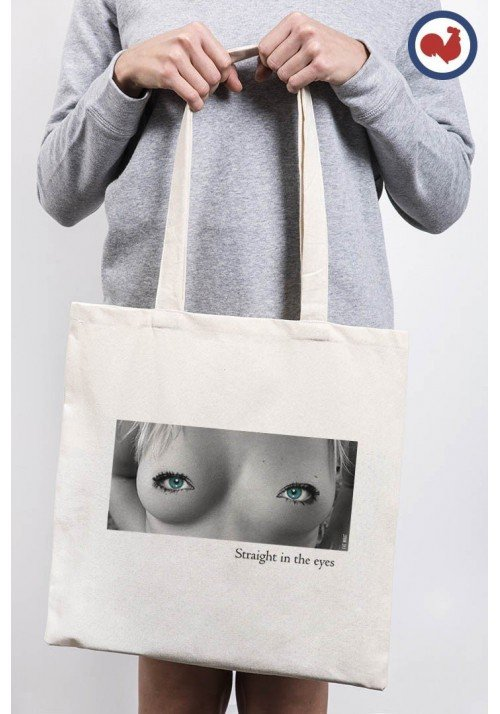 Beautiful Eyes Totebag Made in France