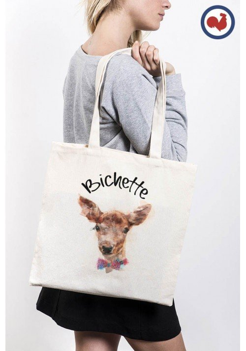 Tête de Bichette Totebag Made in France