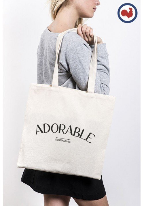 Adorable Emmerdeuse Totebag Made in France