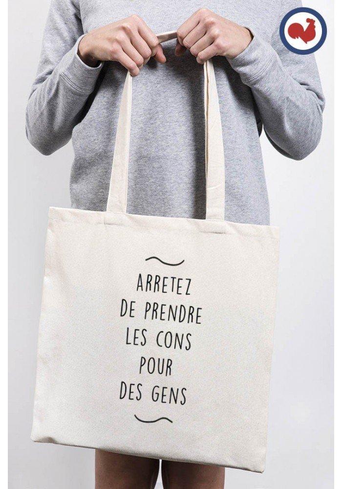 Tote Bag Arrêtez de prendre