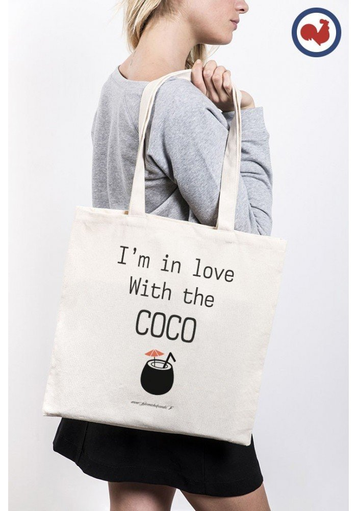 Tote Bag Im in love with the Coco