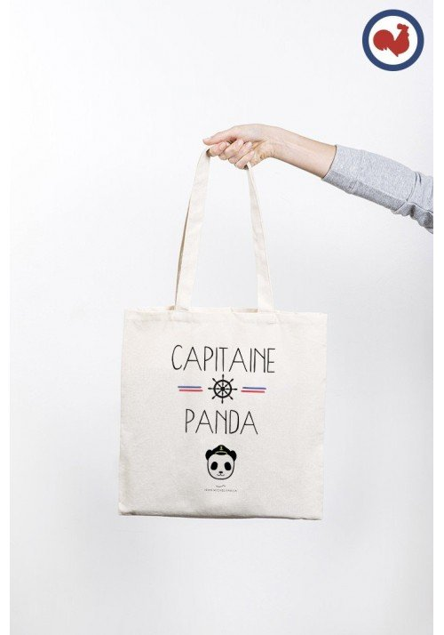 Capitaine Panda Totebag Made in France