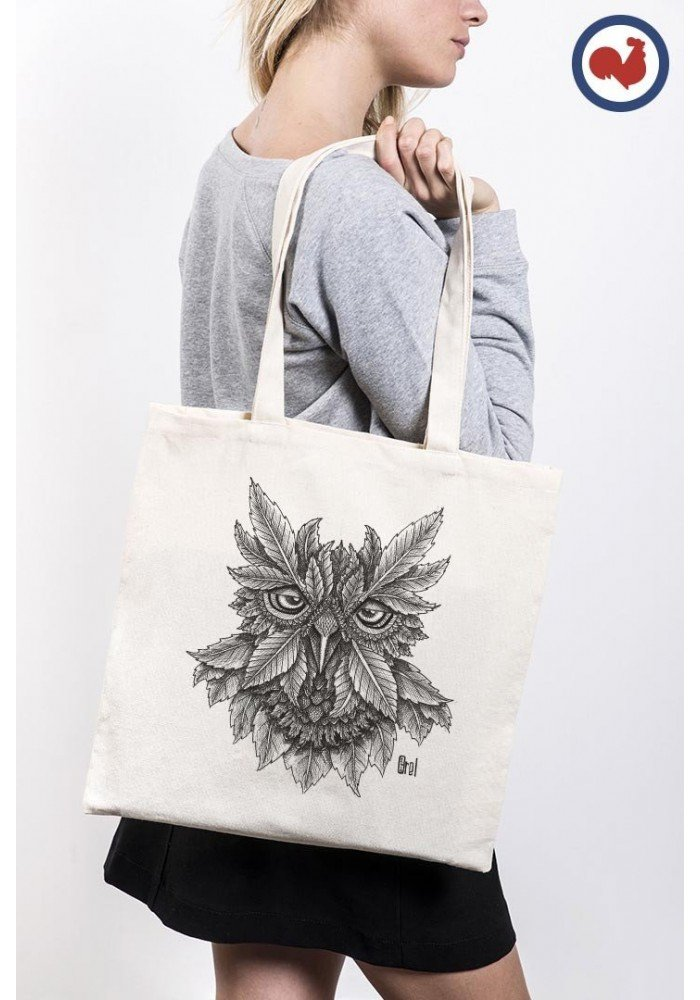 Tote Bag Owly Ink