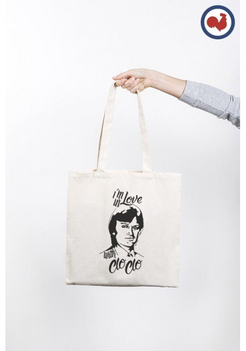 I'm in Love with Cloclo Totebag Made in France