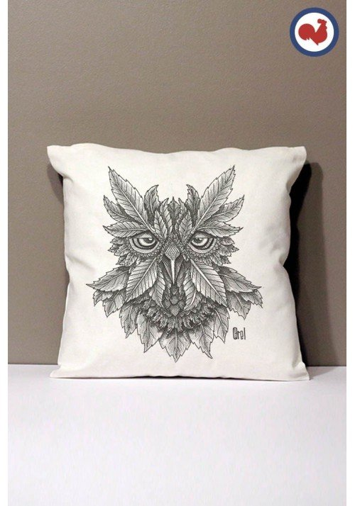 Inkbou Coussin Made in France Bio
