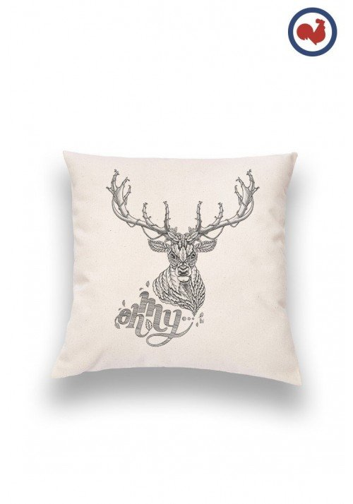 Oh my Deer Coussin Made in France Bio