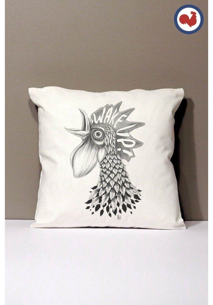 Wake Up Coussin Made in France Bio