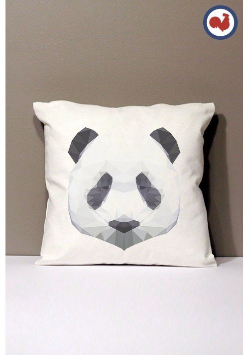 Panda Coussin Made in France Bio