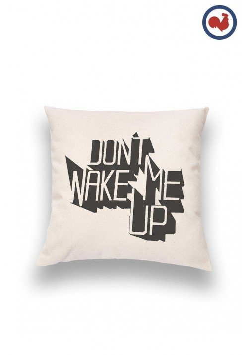 Wake me Coussin Made in France Bio