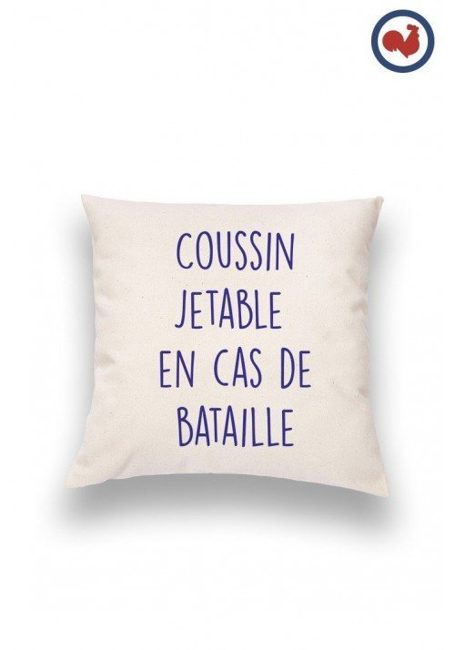 Bataille Coussin Made in France Bio