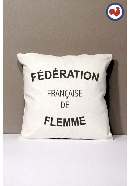 Fédération de Flemme Coussin Made in France Bio
