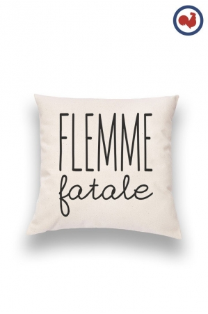 Flemme Fatale Coussin Made in France Bio