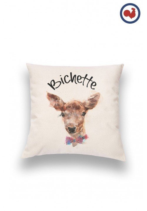 Tete de bichette Coussin Made in France Bio