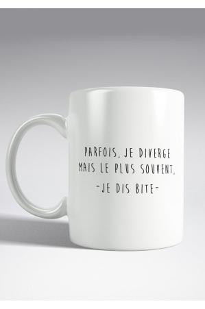 Parfois je diverge Mug
