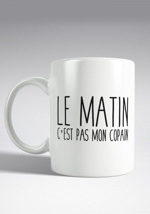 Le matin c'est pas mon copain Mug