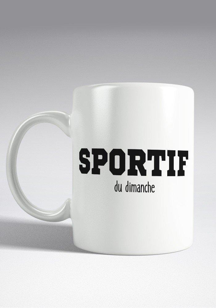 sportif du dimanche Mug