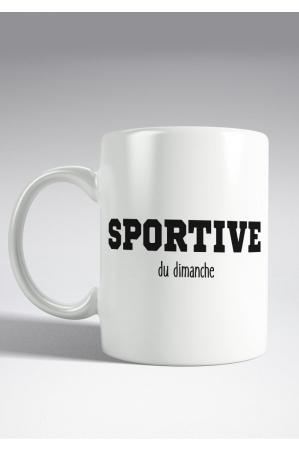 Sportive du dimanche Mug