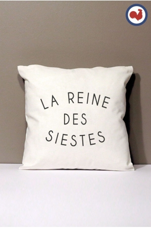 Reine des siestes Coussin Made in France Bio