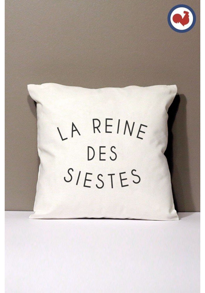 Reines des siestes Coussin Made in France Bio