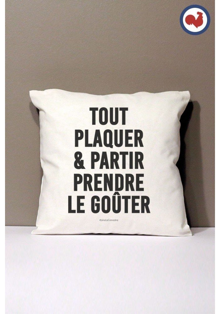 Tout PLaquer Coussin Made in France Bio