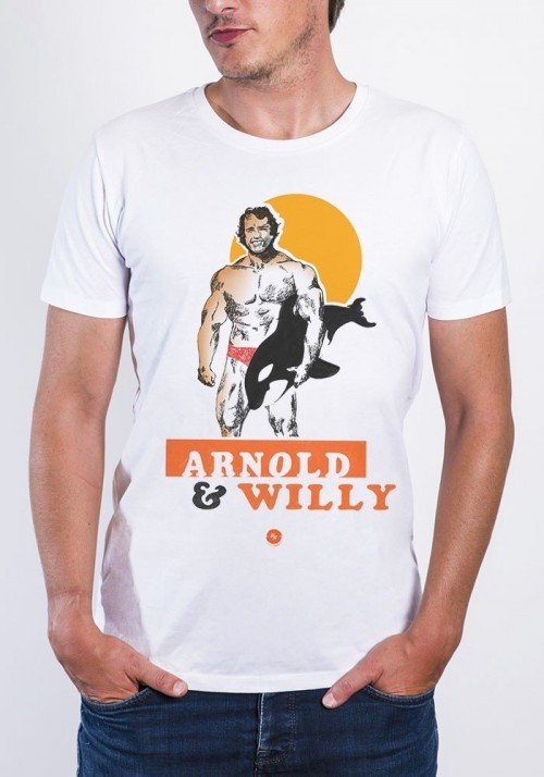 L'Arnold T-shirt Homme Col Rond