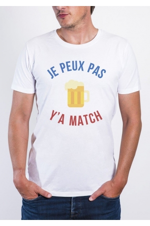 Y'a match T-shirt Homme