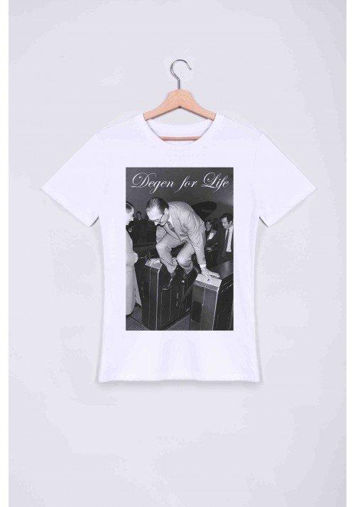 Degen Chirac  T-shirt Homme Col Rond