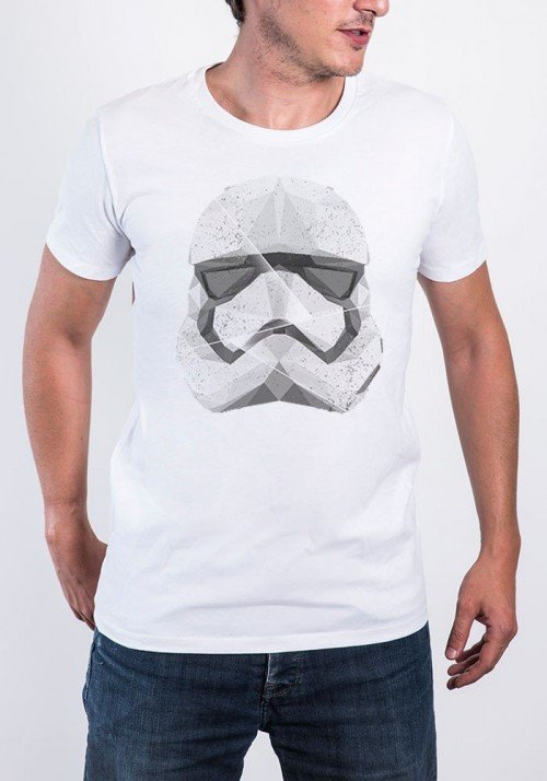 Polygon Trooper T-shirt Homme Col Rond