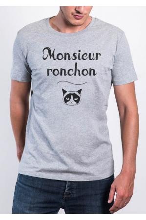 Monsieur Ronchon T-shirt Homme Col Rond