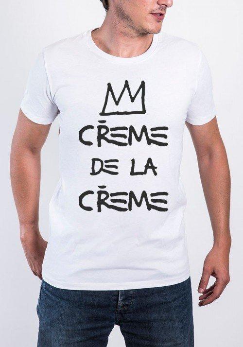 Crème de la Crème T-shirt Homme Col Rond