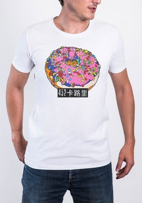 Donuts  T-shirt Homme Col Rond