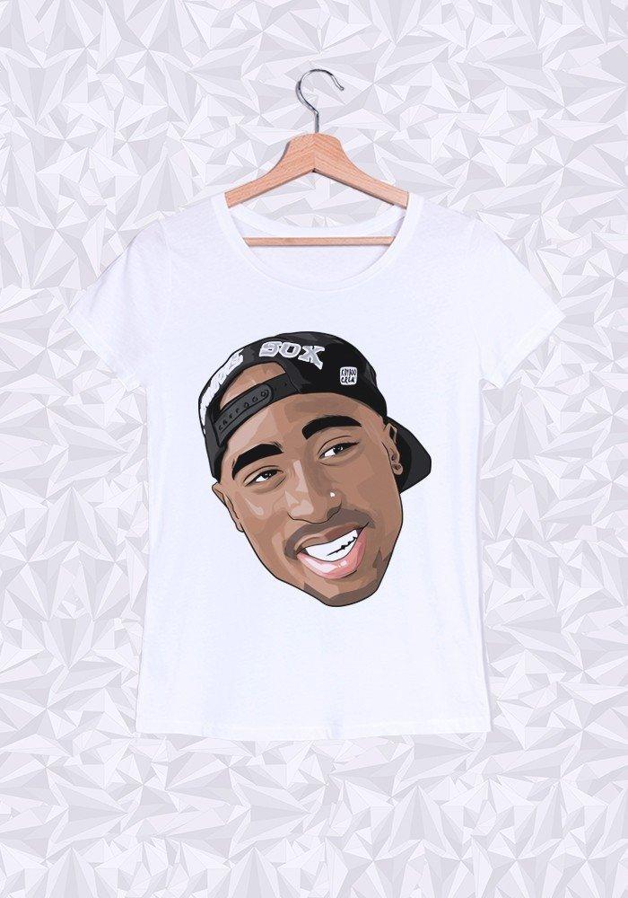 Tshirts Femme Tupac Cap