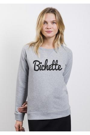 Bichette Typo - Sweat Femme