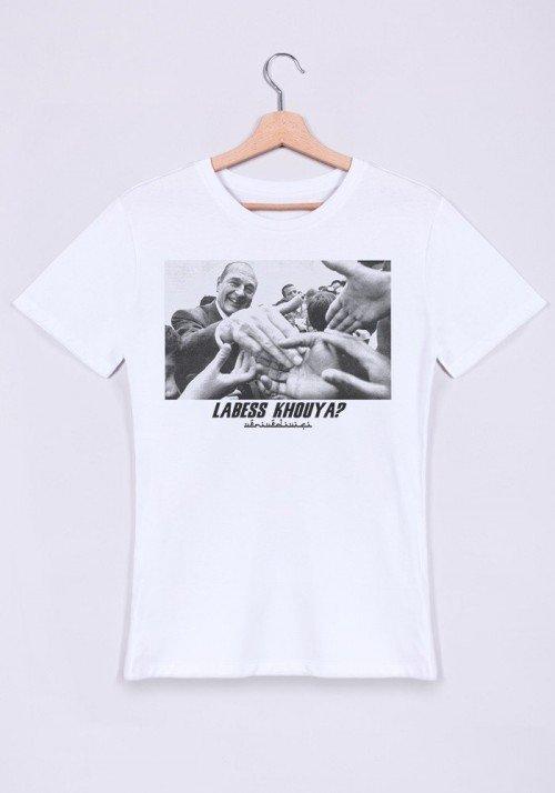T-shirt Homme col rond La Bess Khouya