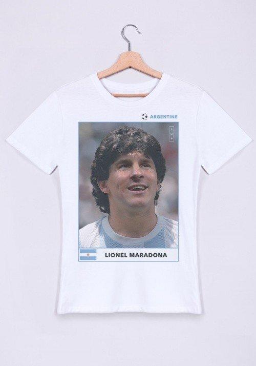 Lionel Maradona T-shirt Homme Col Rond